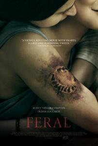Feral poster 01 202x300 - FERAL Review - Takes a Bite But Doesn't Quite Leave Its Mark