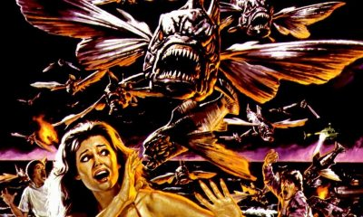 Piranha 2fi - PIRANHA II: THE SPAWNING Blu-ray Review - They Fly. They Bite. They Suck.