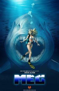 The Meg Novel 194x300 - The Meg Author Steven Alten Reacts to the Jason Statham Film's Trailer