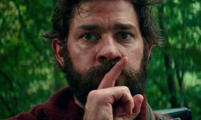 aquietplaceshushbanner1200x627 - Interview: Scott Beck and Bryan Woods on Writing A Quiet Place