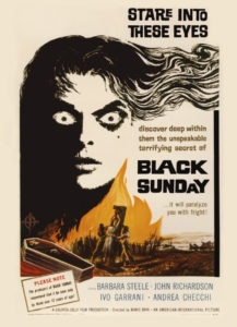 316 Black Sunday Poster 217x300 - Look, There Comes One Of Them Now! Eight Classic Horror Movie Openers