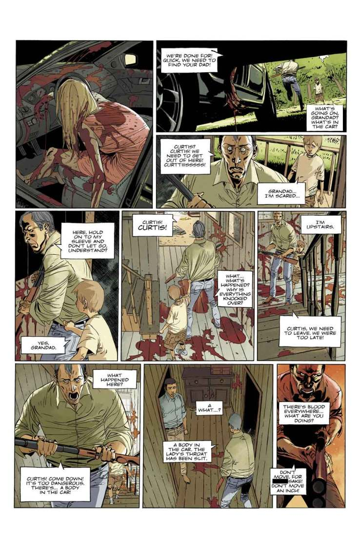 Deadlife1 PREVIEW2 - Exclusive: Preview Issue #1 of Titan Comics' DEADLIFE