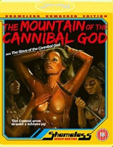 Mountain Of The Cannibal God Bluray cover 230x300 - THE MOUNTAIN OF THE CANNIBAL GOD UK Blu-ray Review – Andress and Keach Have A Terrible Jungle Vacation
