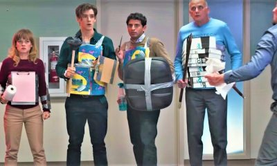 Office Uprising FI - Jane Levy Battles Zachary Levi in OFFICE UPRISING Trailer