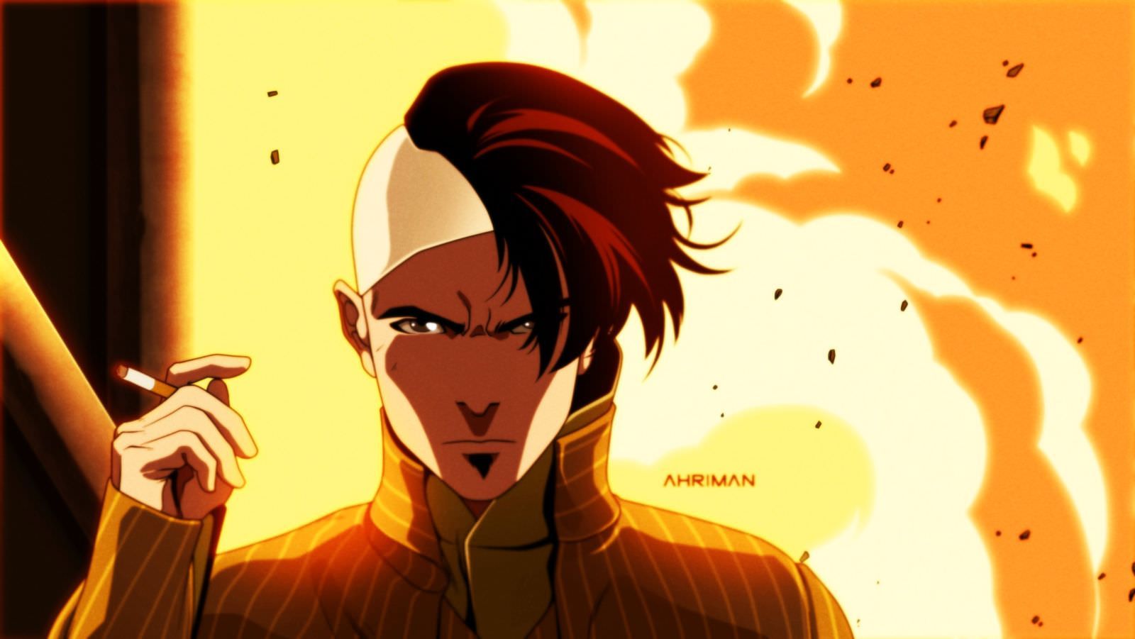 Ahriman FIFTH ELEMENT 1 - Must-See Art: Ahriman Turns Classic Flicks Into Anime!