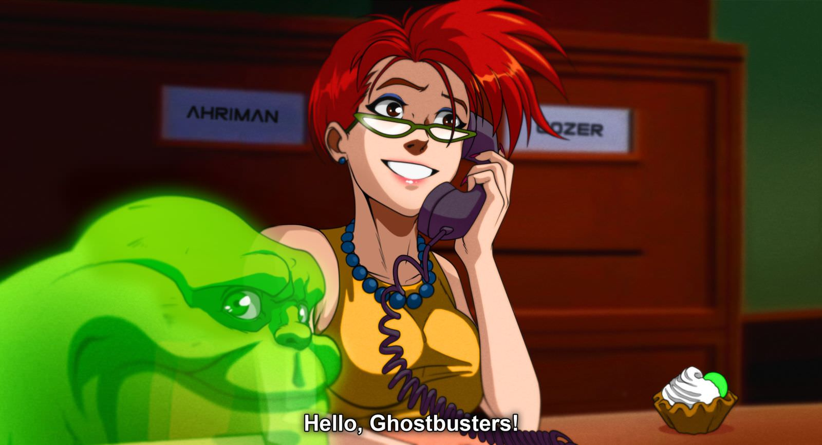 Ahriman GHOSTBUSTER 1 - Must-See Art: Ahriman Turns Classic Flicks Into Anime!