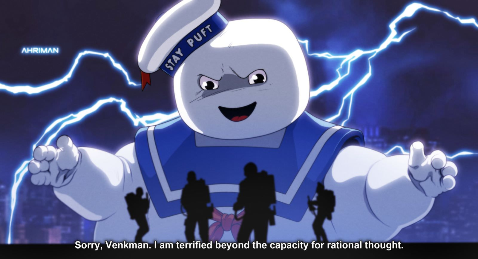 Ahriman GHOSTBUSTERS 3 - Must-See Art: Ahriman Turns Classic Flicks Into Anime!