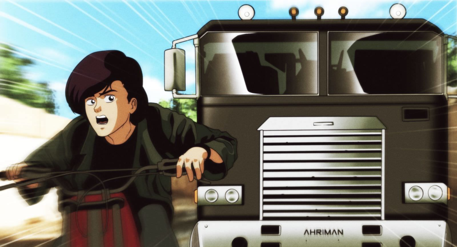 Ahriman T2 4 - Must-See Art: Ahriman Turns Classic Flicks Into Anime!