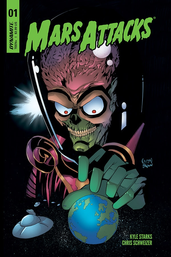Mars Attacks 1 - #SDCC18: MARS ATTACKS! Comics Return This October