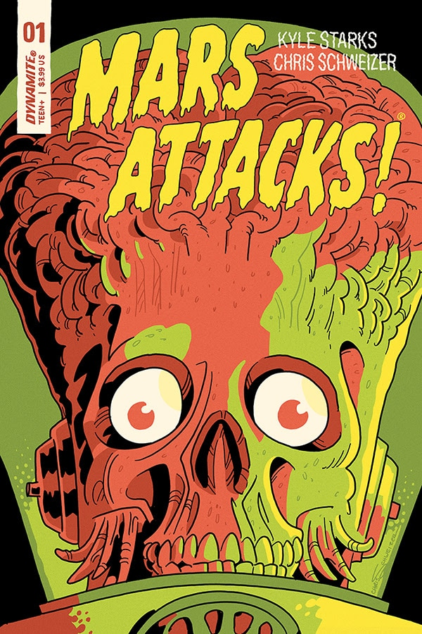 Mars Attacks 4 - #SDCC18: MARS ATTACKS! Comics Return This October