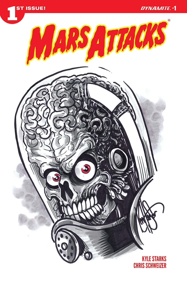 Mars Attacks 5 - #SDCC18: MARS ATTACKS! Comics Return This October