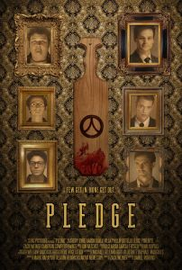 Pledge 202x300 - TRAILER: Frat Life Gets Scary in Daniel Robbins' PLEDGE