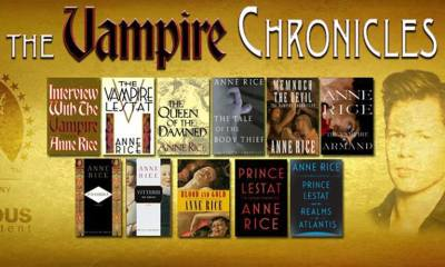 vampire chronicles banner - Anne Rice's THE VAMPIRE CHRONICLES Heading to Hulu