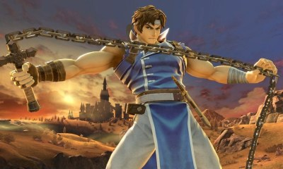 richter castlevania smash bros 1 - Simon and Richter Belmont Join Super Smash Bros. Ultimate; Watch The Grim Reaper Kill Luigi In The Trailer