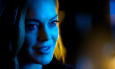 AmongtheShadowsLohan - Lindsay Lohan is a Vampire in New Poster + Trailer for AMONG THE SHADOWS