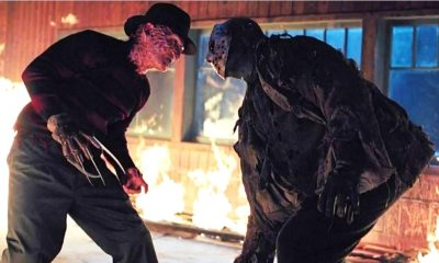 Freddy vs Jason Climax - In Extremely Rare On-Set Interview, Robert Englund Explains Why Kane Hodder Wasn't Cast in FREDDY VS. JASON