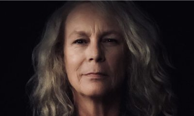 """Jamie Lee Curtis 2018 - The Emotional Reason the Crew of HALLOWEEN Wore """"We Are Laurie Strode"""" Nametags"""