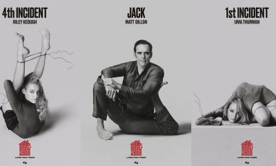 Posters Jack Built - Lars von Trier's THE HOUSE THAT JACK BUILT Character Posters Contort the Cast