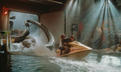 deeprising banner - DEEP RISING Blu-ray Review - Treat Treats Treat Fans To Tentacled Terrors In The Tropics