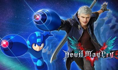 devil may cry 5 mega man 1 - You Can Wield Mega Man's Arm Cannon In DEVIL MAY CRY 5