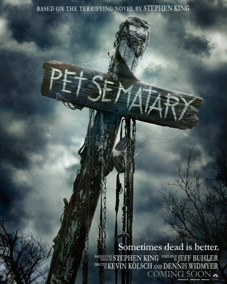 Pet Sematary 2019 UK Poster - UK Poster for 2019's PET SEMATARY is Bone Chilling!