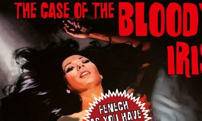 The Case of the Bloody Iris - Shameless Bringing Infamous Giallo THE CASE OF THE BLOODY IRIS to UK Blu-ray