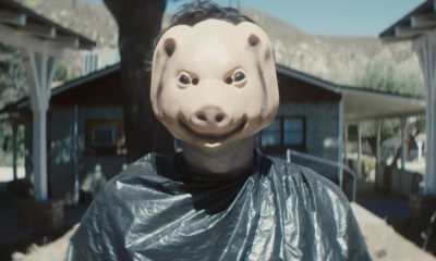 The Farm Pig Mask - Exclusive Look at New Official Poster for Cannibal Horror THE FARM