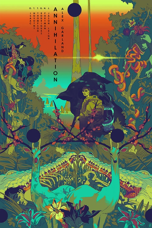 annihi RegA 72 - Tomer Hanuka's ANNIHILATION Prints Are a Work of Stunning Beauty