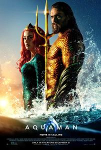 Aquaman 2018 Poster 202x300 - James Wan's Possessed ANNABELLE Doll Has a Cameo in AQUAMAN