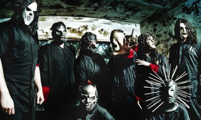 """Slipknot Banner - Slipknot Further Teases New Album with """"All Out Life"""" Behind-the-Scenes Studio Clip"""