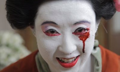 Terror Tales Geisha Kill Clip Banner - A Geisha Kills in Exclusive Clip from Horror Anthology TERROR TALES
