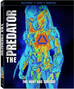 The Predator DVD 250x300 - More Unused Concept Art from THE PREDATOR Reveals Creepy Crawly Spider Hybrid