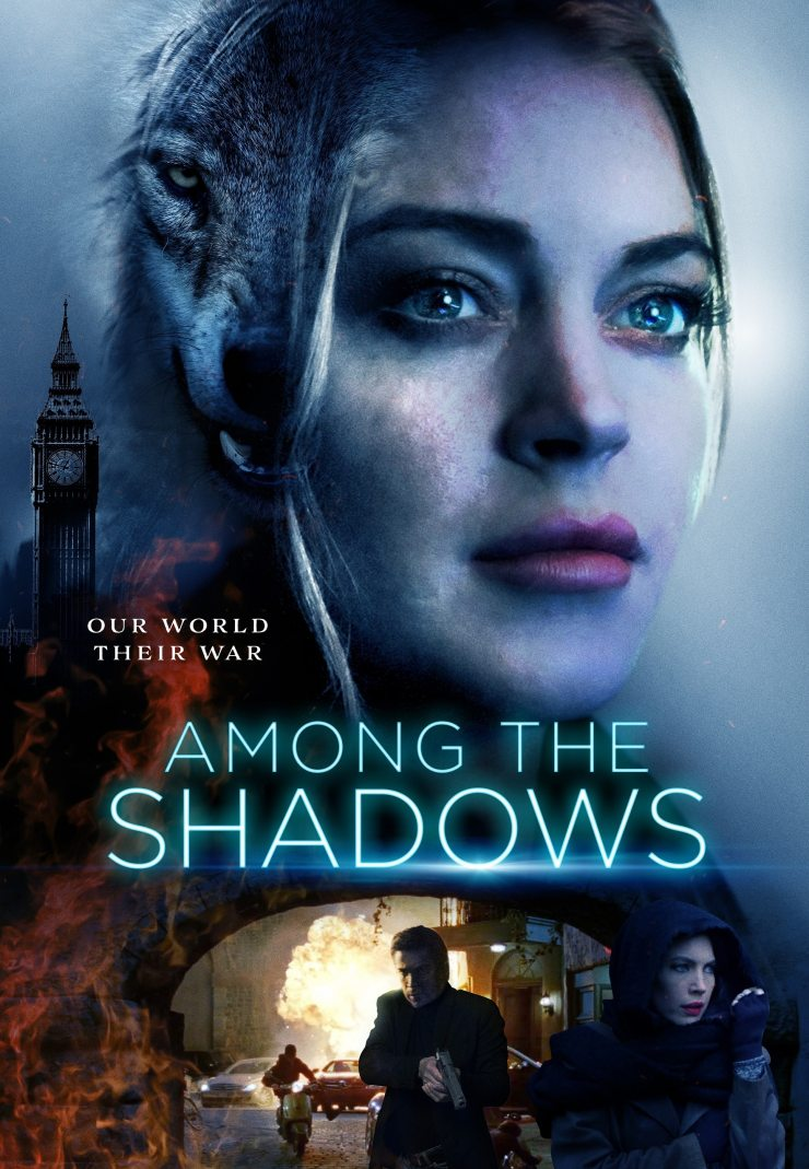 Among The Shadows smaller - New Trailer & Poster + Release Date Announced for Lindsay Lohan Werewolf Movie AMONG THE SHADOWS