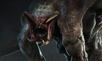 "Predator Mutant Concept Art - Damn Dog! Hounds & Ghastly Mutant ""Gone Wrong"" are Latest Unused Concept Art from THE PREDATOR"