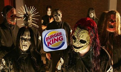 "Slipknot BK - That Time SLIPKNOT Sued Burger King Over ""Coq Roq"" Chicken Fries Commercial"