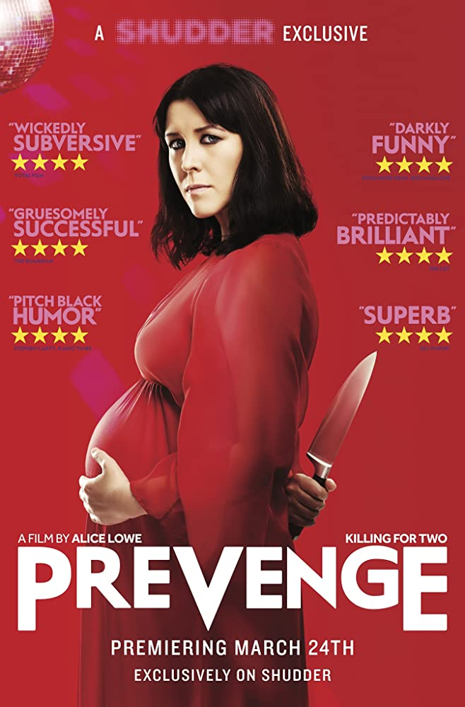 Prevenge Poster - Contest: We're Giving Away 3 Copies of Pregnancy Horror-Comedy PREVENGE on Blu-Ray!