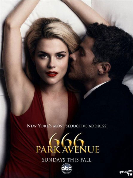 666promo2 - New Promo Posters for 666 Park Avenue Are Heavy on Sex but Light on Scares