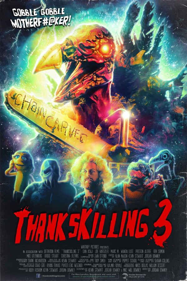 Thankskilling 3 - Gobble Up the New ThanksKilling 3 Brown Band Trailer