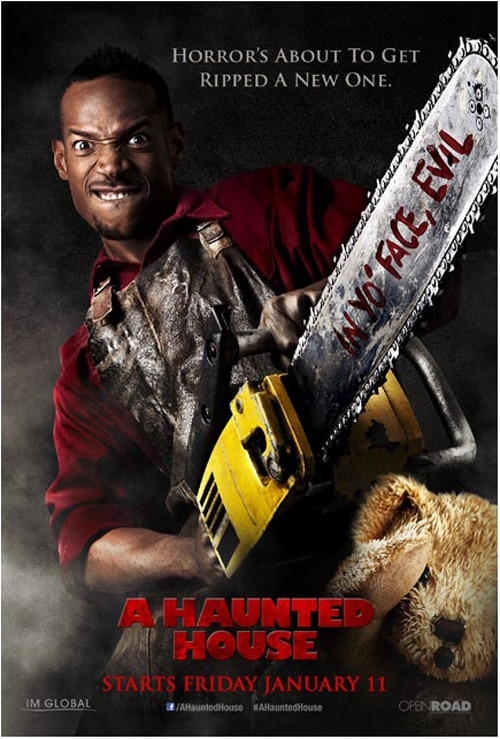 A Haunted House - Read the Review; Final Two Gag Posters