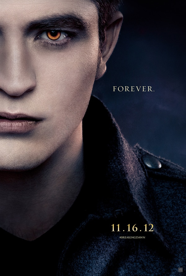 bdedward - A Trio of New Character Posters for The Twilight Saga: Breaking Dawn - Part 2