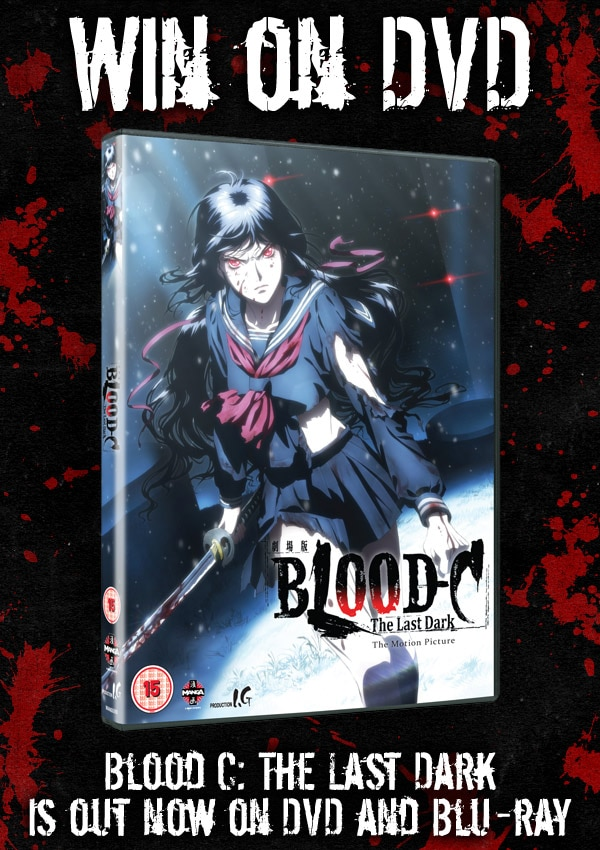 blood c uk - CONTEST CLOSED! UK Readers - Win Blood C: The Last Dark on DVD!