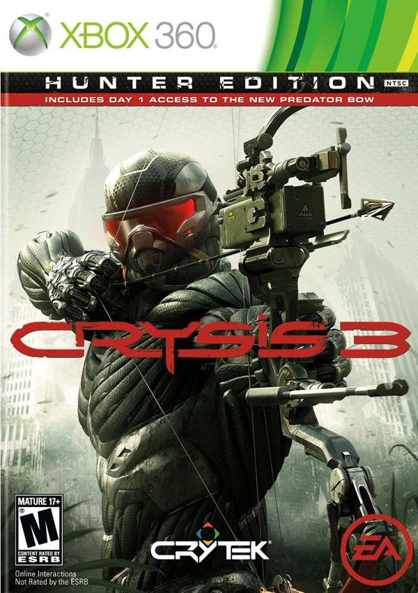 cry3 - Splatter Blood in Crysis 3; Now Available In Stores