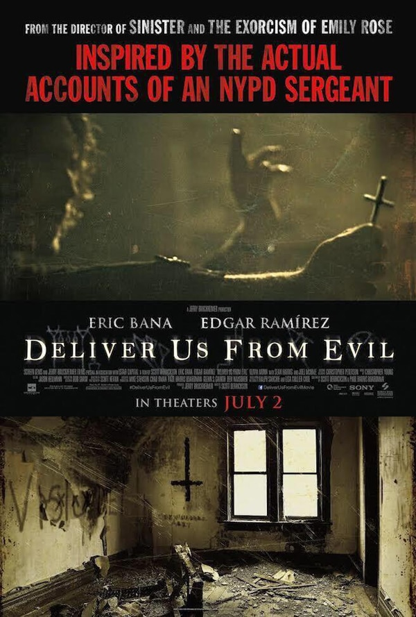 deliver us from evil official poster - Third International Trailer Arrives to Deliver Us From Evil
