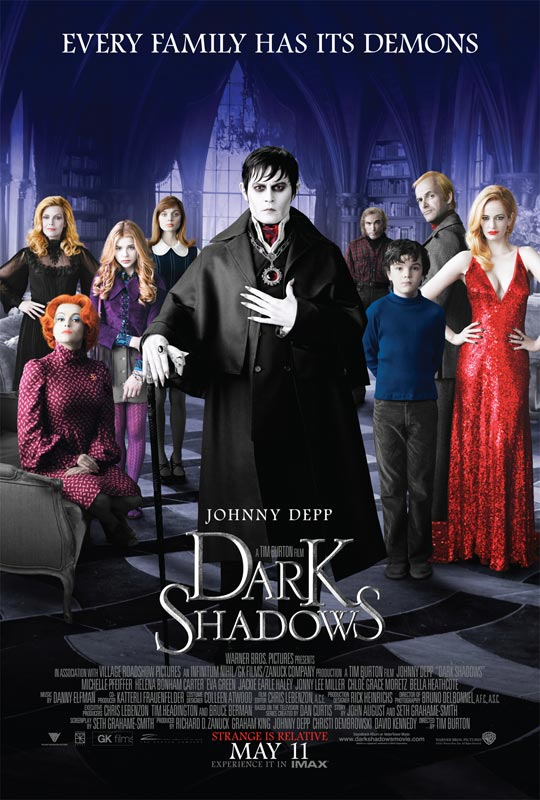dsposter - Dark Shadows Will Be Cast on DVD and Blu-ray in October