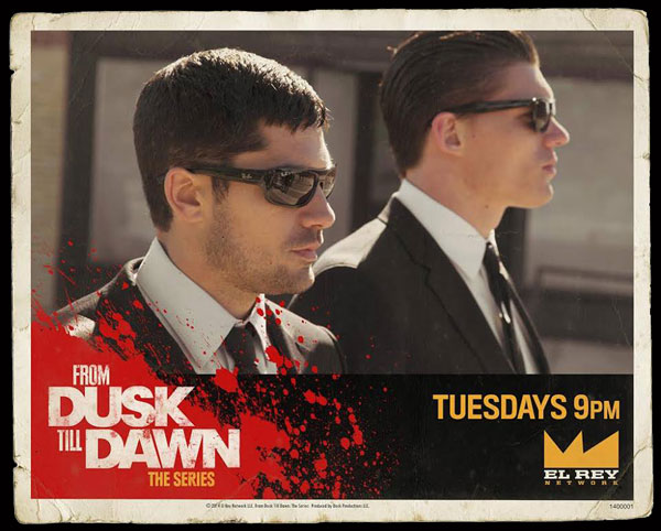 fromdusktilldawnbanner - Jake Busey Talks From Dusk Till Dawn, How Mayan Gods & Robert Rodriguez Saved Him, Snake People, and More