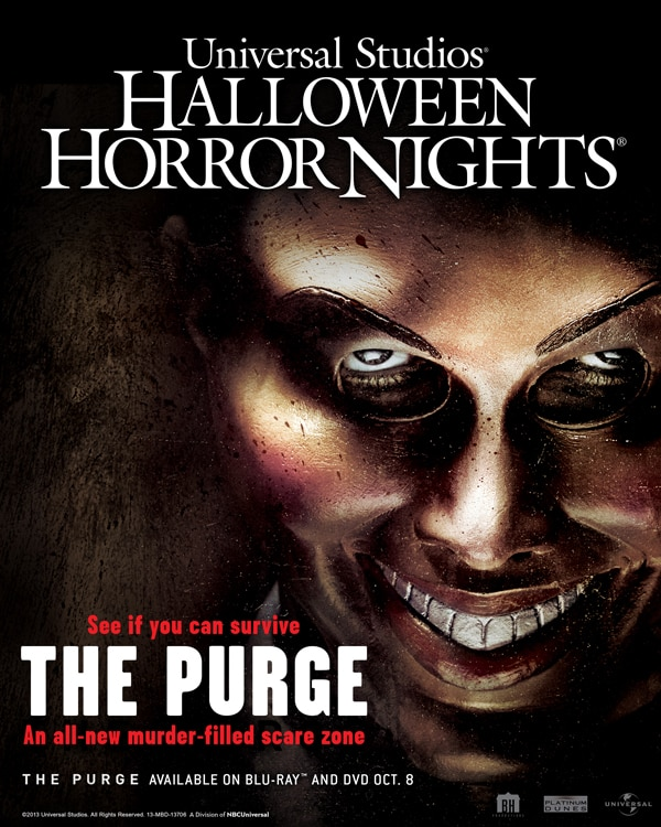 hhnpurge - Halloween Horror Nights Adds The Purge and Curse of Chucky to This Year's Line-Up of Attractions!