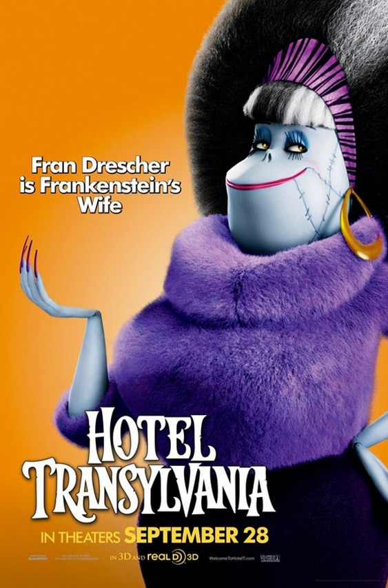 htc3 - New Hotel Transylvania Posters Finally Get Funny