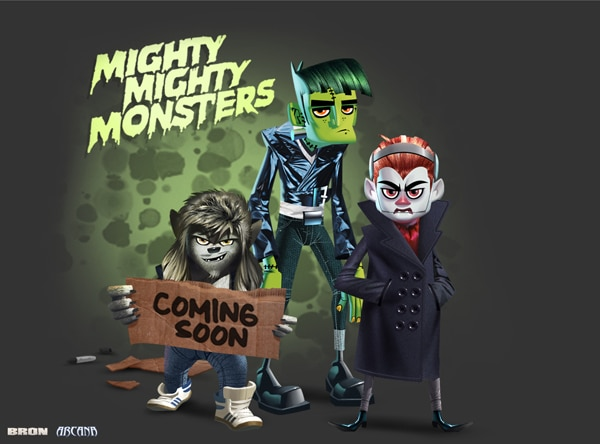 mightymightymonsters - Mighty Mighty Monsters Reanimates For TV