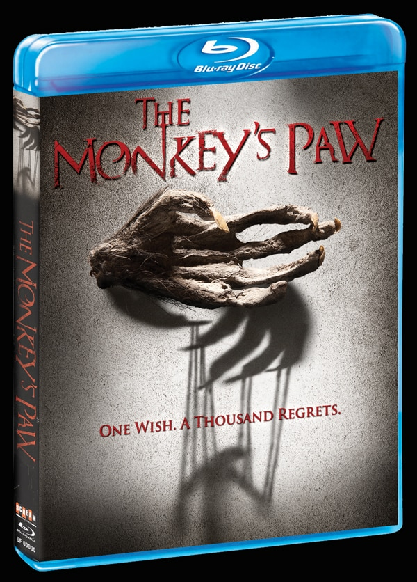 monkeys paw blu ray - CONTEST CLOSED! Win The Monkey's Paw Blu-ray from Scream Factory