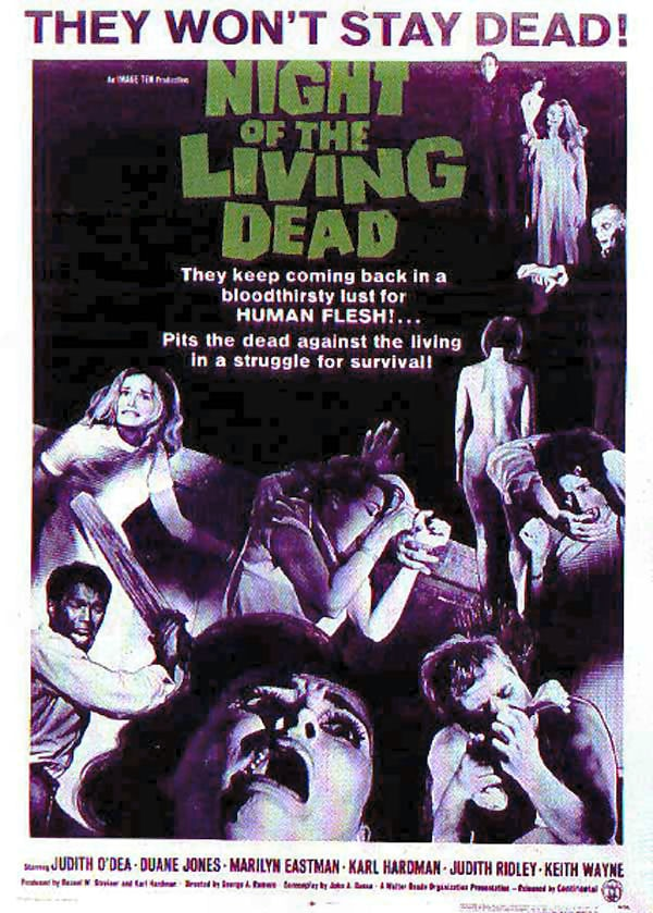 notld1 - Horror History: Feast Your Eyes on the Invite for the Premiere of the Original Night of the Living Dead